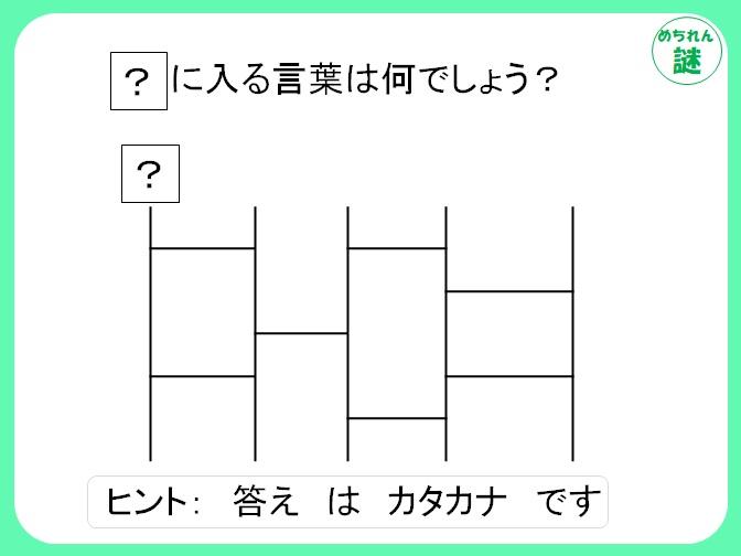 暗号謎解き ヒントを使ってあみだくじを解く?暗号を読み解き答えを導け!