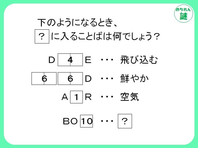 規則性謎解き 数字が何を意味するのか、そのルールを見抜き、答えを導き出せ!