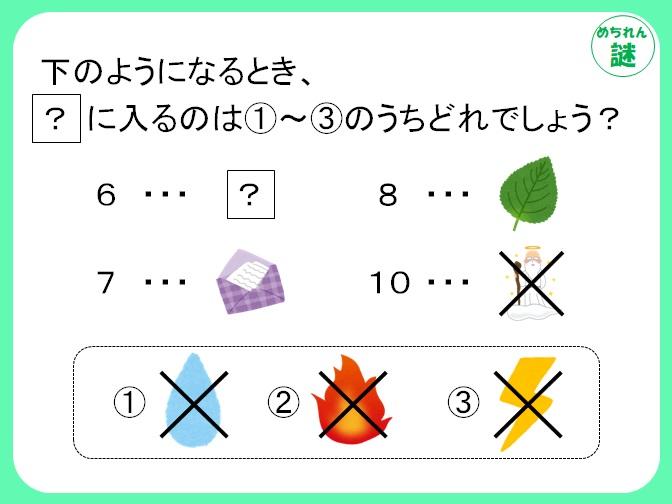 規則性謎解き 数字とイラストの関係性を見つけ出し、謎を解き明かそう!