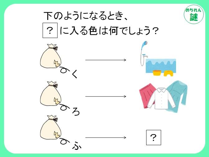 イラスト謎解き 矢印前後のイラストの関係性から、謎を解き明かそう!!