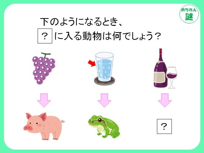 規則性謎解き イラストどうしを結ぶ矢印が何を意味するのか、謎を解いて答えにたどり着け!